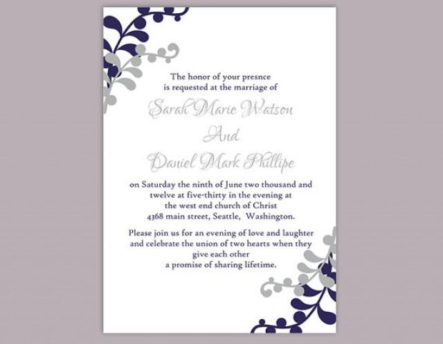 Wedding invitation templates for word yaseen for for Wedding invitation sample word document