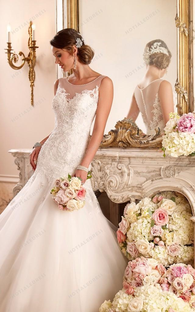 wedding photo - Stella York Organza Wedding Dress Style 6021