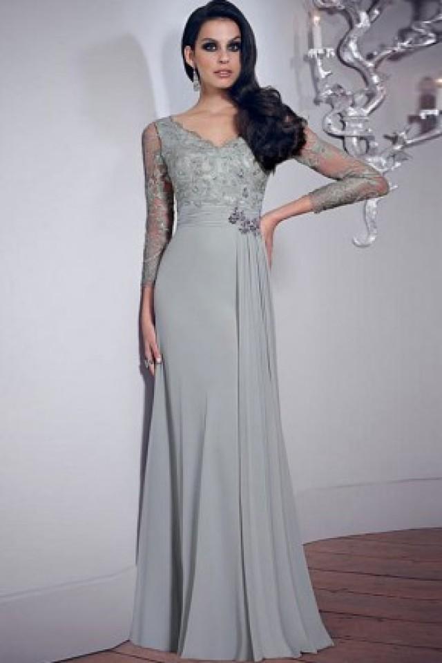 b8a4b661ea1 wedding photo - maxi cocktail dresses long sleeve