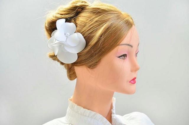 Bridal Fascinator Simple Fascinator Bridal Headpiece Head ...