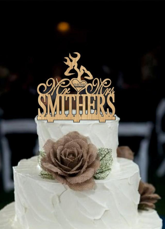 wedding photo - Deer Wedding Cake Topper - Country Wedding Cake Topper - rustic wedding cake topper - shabby chic- redneck - cowboy - outdoor - western