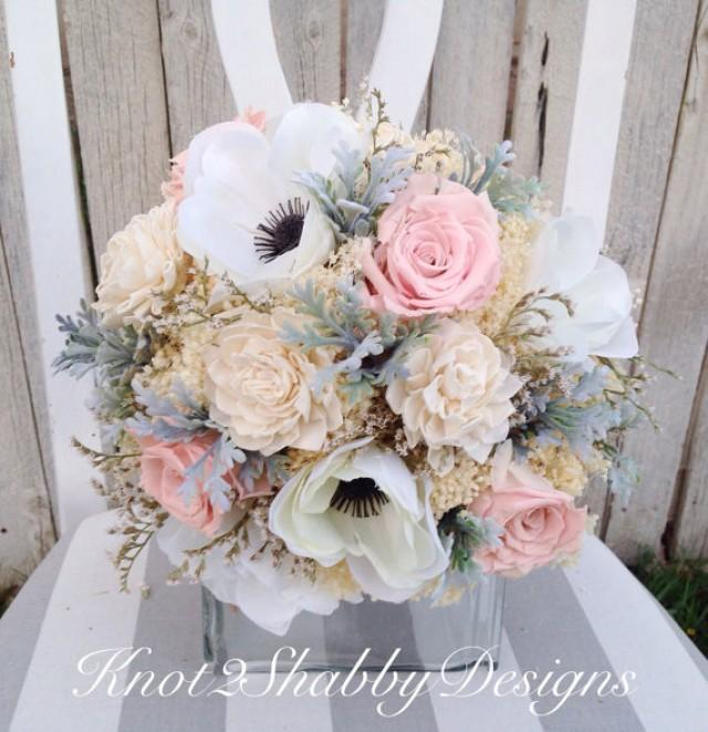 dried flower bouquet dried bridal bouquet dusty miller