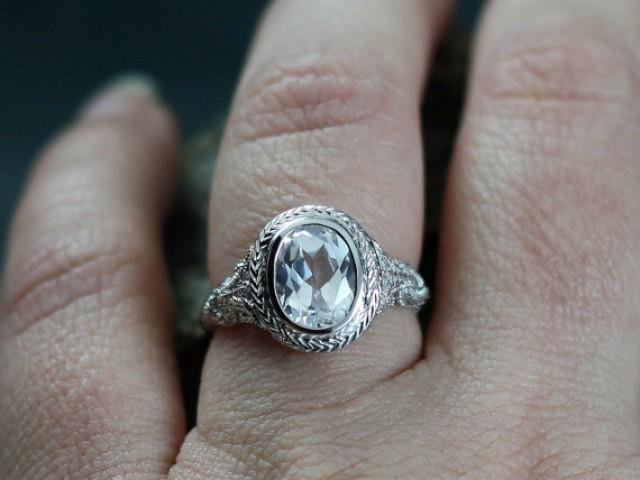 Antique Sapphire Engagement Rings Australia