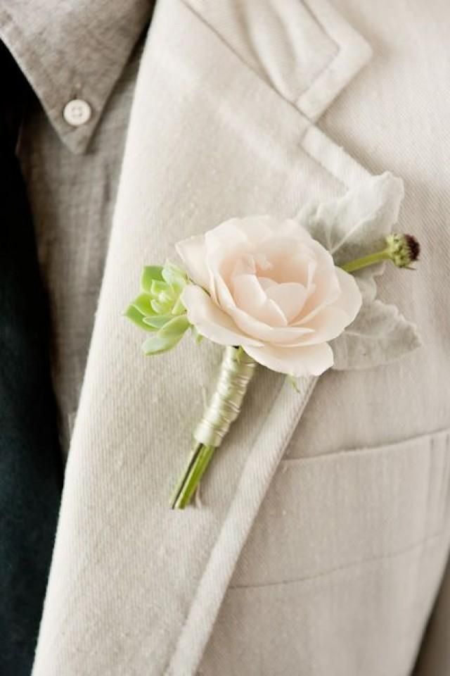 jeune mari pink rose boutonniere 2380496 weddbook. Black Bedroom Furniture Sets. Home Design Ideas