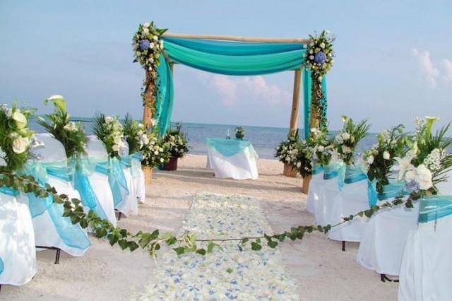 Beach Themed Backyard Wedding : Wedding Theme  Outdoor Beach Wedding Decor Ideas #2380606  Weddbook