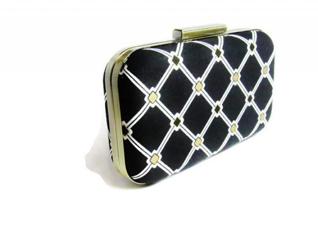 Bridesmaids accessories art deco bag bridesmaids gift for Deco accessoires