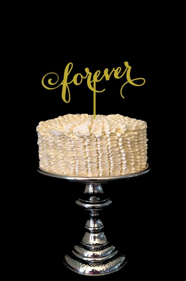 Wedding Cake Topper Forever Signature Design #2383743 ...