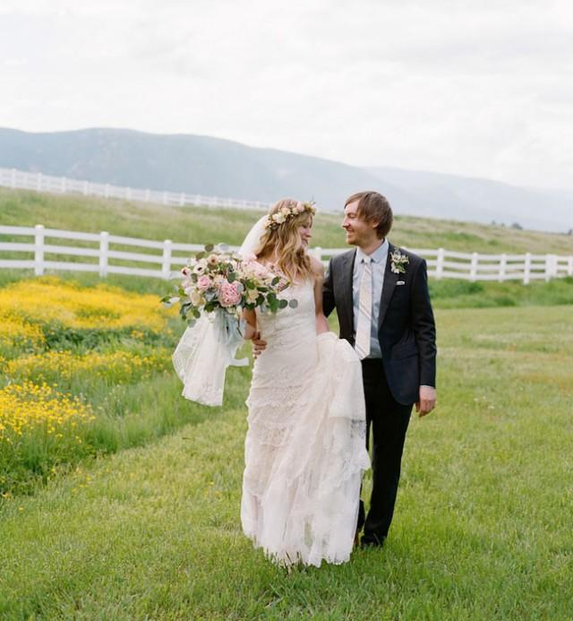 Romantic Bohemian Colorado Wedding Amy Will Weddbook