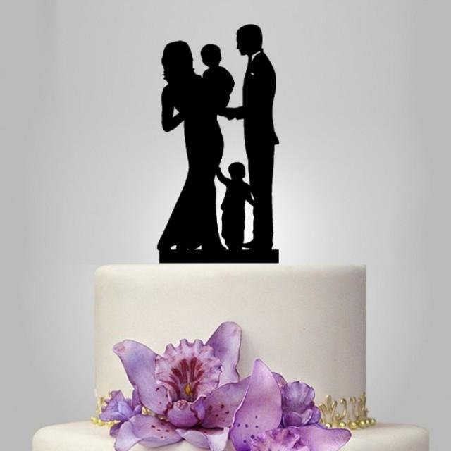 Family Wedding Cake Topper With Toddler 2386256