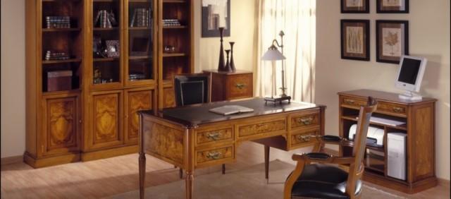 C mo crear un despacho cl sico en casa weddbook for Amueblar despacho casa