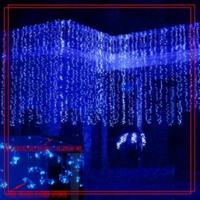 32 Feet 100 LED String Fairy Lights Christmas Wedding Garden Party Xmas Light, Blue #2386625 ...