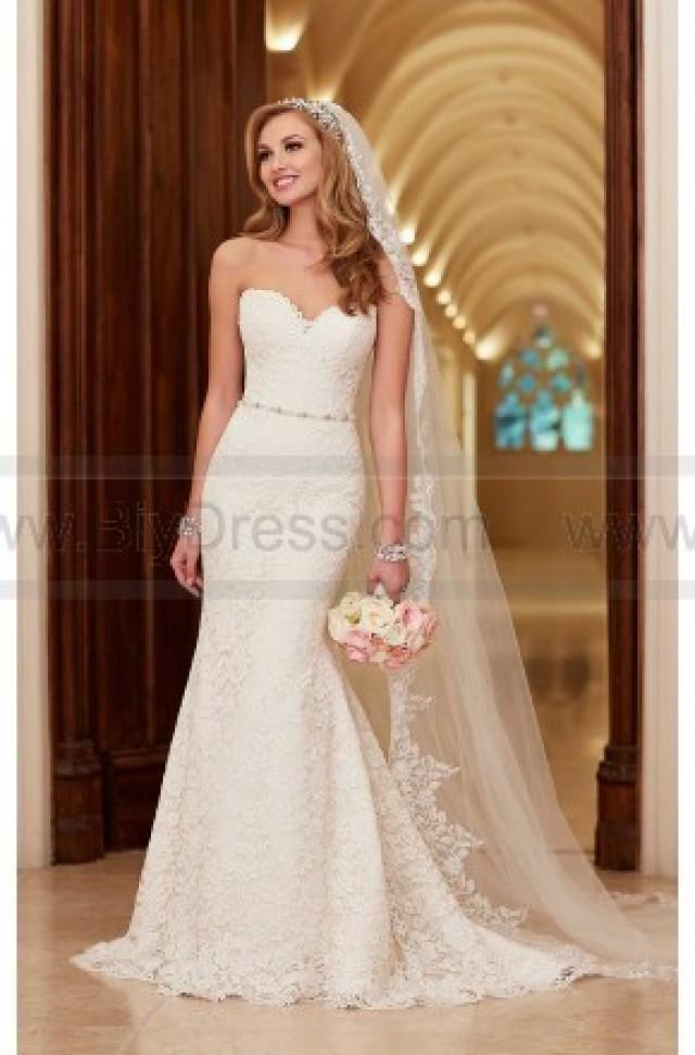 Stella York Romantic Lace Over Satin Wedding Dress Style 6124 2390353 Weddbook