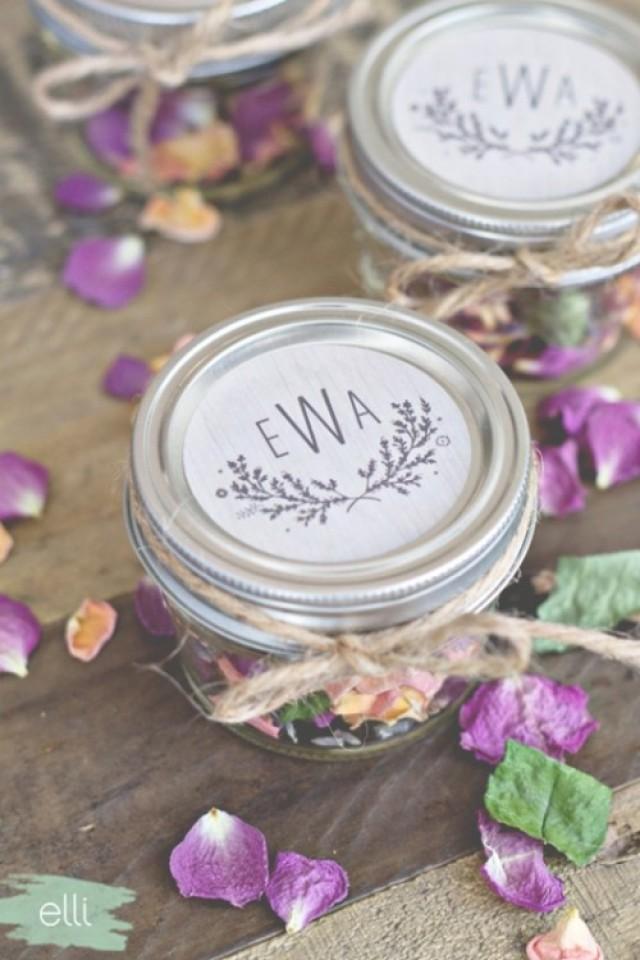 Fall Wedding Favor Ideas Diy : Lovely DIY Potpourri Fall Wedding Favors Weddingomania - Weddbook