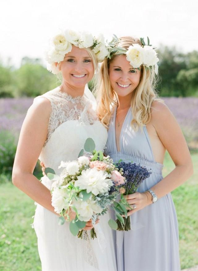 wedding photo - Lavender Inspired Destination Wedding In France