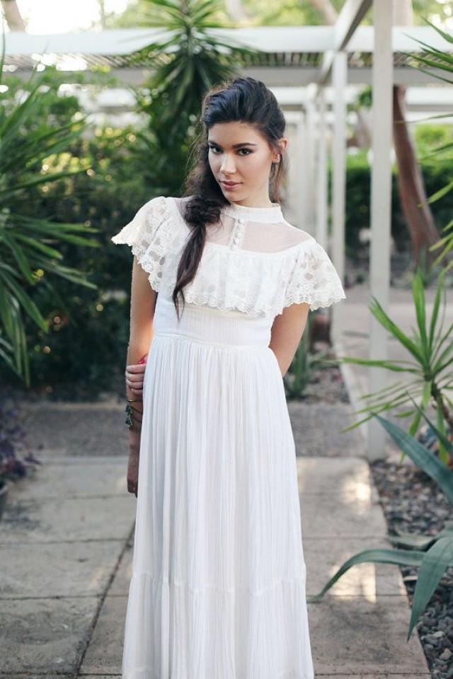 1970s Gunne Sax Wedding Dress 2393862