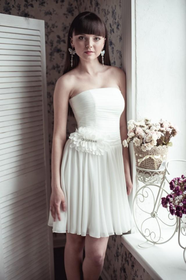 dress on sale short wedding dress m14 2395826 weddbook ForShort Wedding Dress Sale