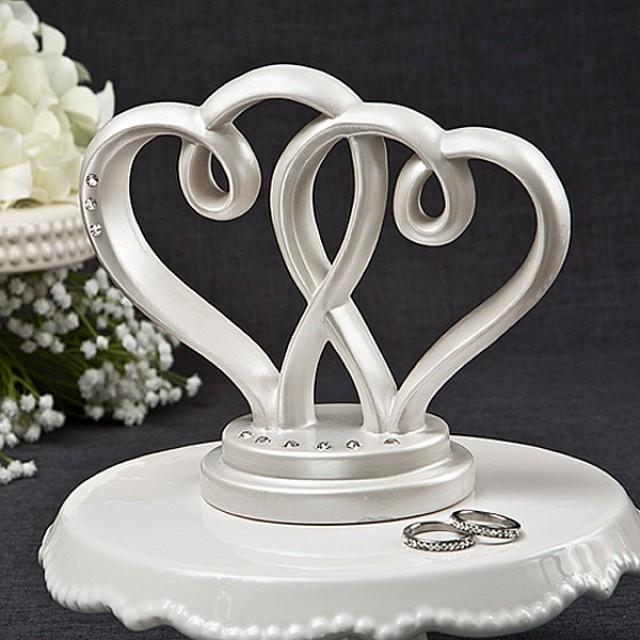 Cake Topper Wedding Cake Topper Decor Decorations Cake Toppers Rustic Gold Cake Topper For