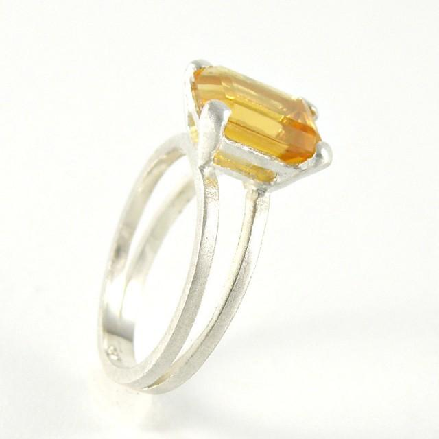 citrine ring november birthstone citrine engagement ring