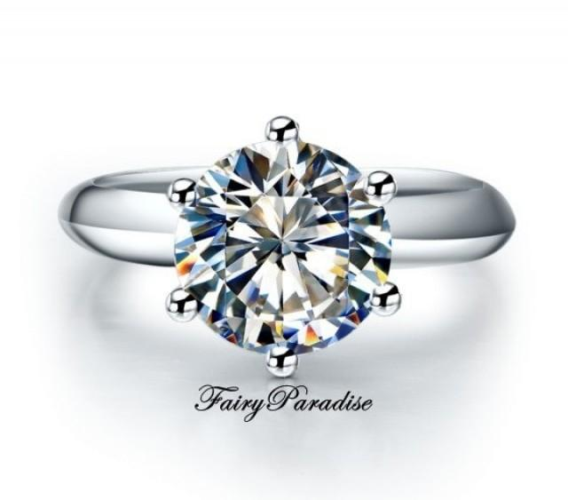 Solitaire Diamond Engagement Rings  RossSimons