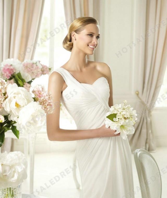 Wedding dress style pronovias paris draping 2398842 for Wedding dress in paris