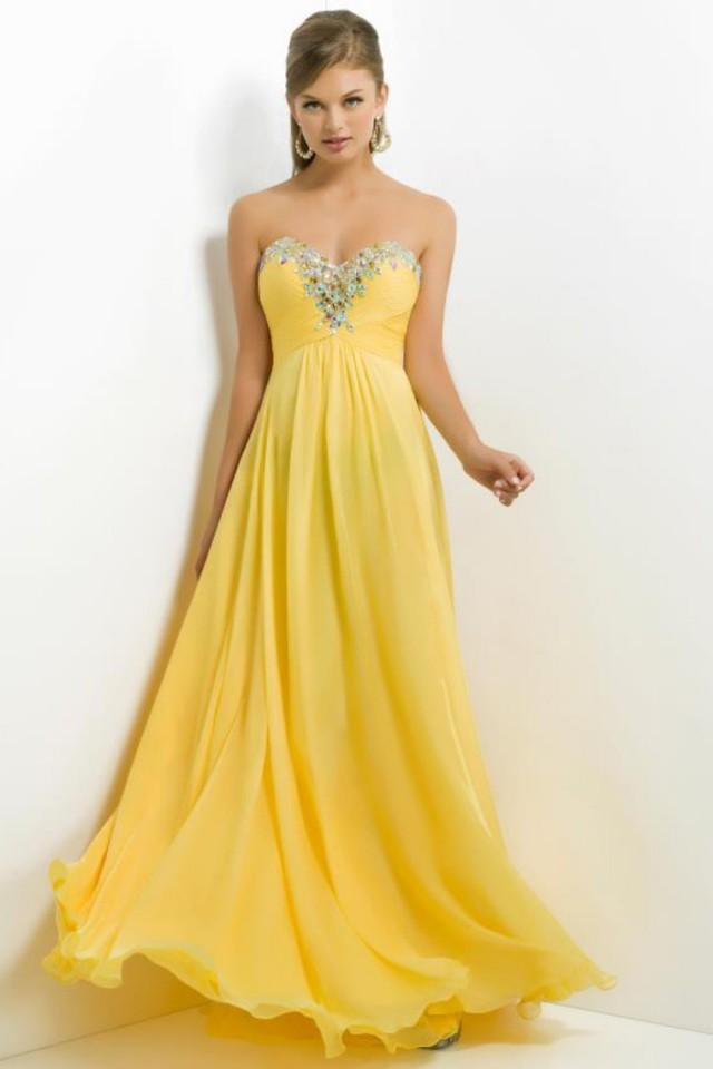 wedding photo - prom dress