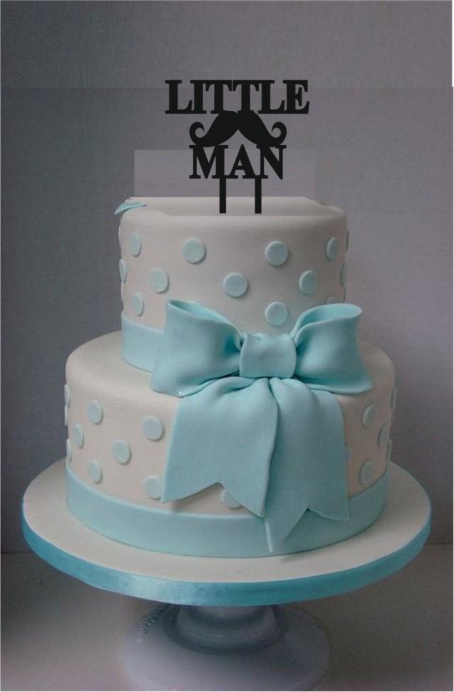little man cake topper acrylic laser cut cake topper baby shower cake