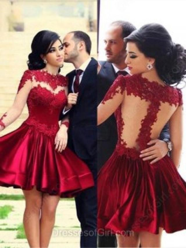wedding photo - DressesofGirl provides a generous dose of cocktail dresses for ladies.