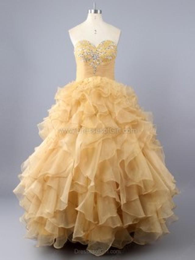 wedding photo - 15 Quinceanera Dresses, Pretty 15 Dresses - DressesofGirl.com