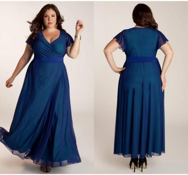 Plus Size Long Evening Dresses Cheap