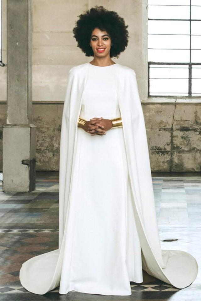 Celebrity Cape Trends To Wear For Your Winter Wedding ...