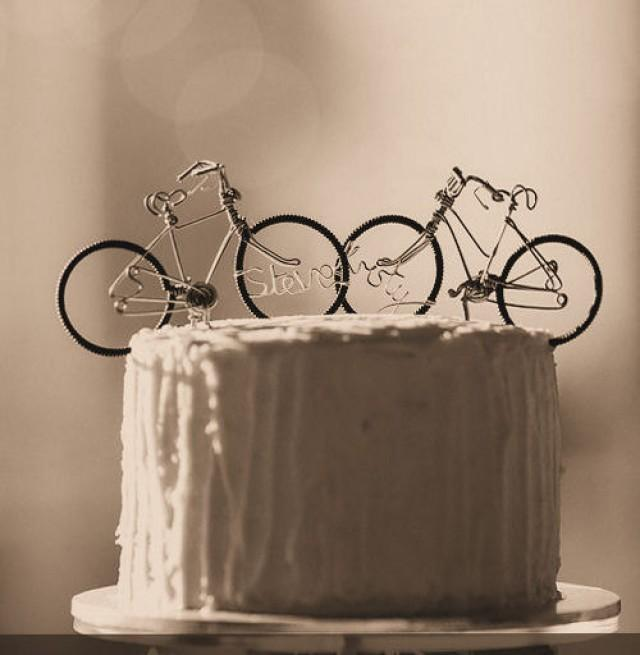 Personalised Wire Cake Toppers