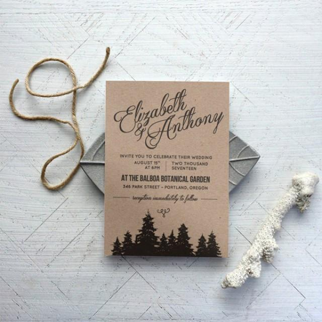 rustic wedding invitation templates - Free Rustic Wedding Invitation Templates