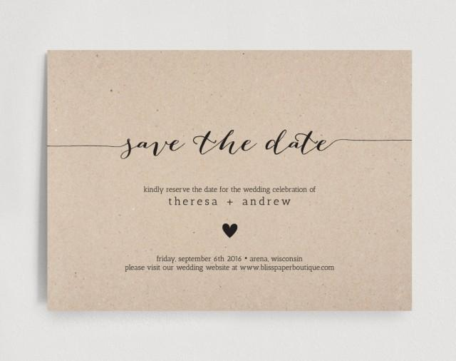 downloadable save the date templates free - save the date invitation wedding rehearsal editable