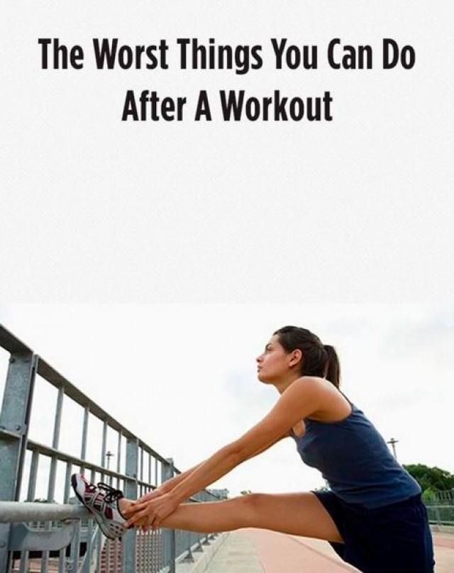 The worst things you can do after a workout 2406847 weddbook