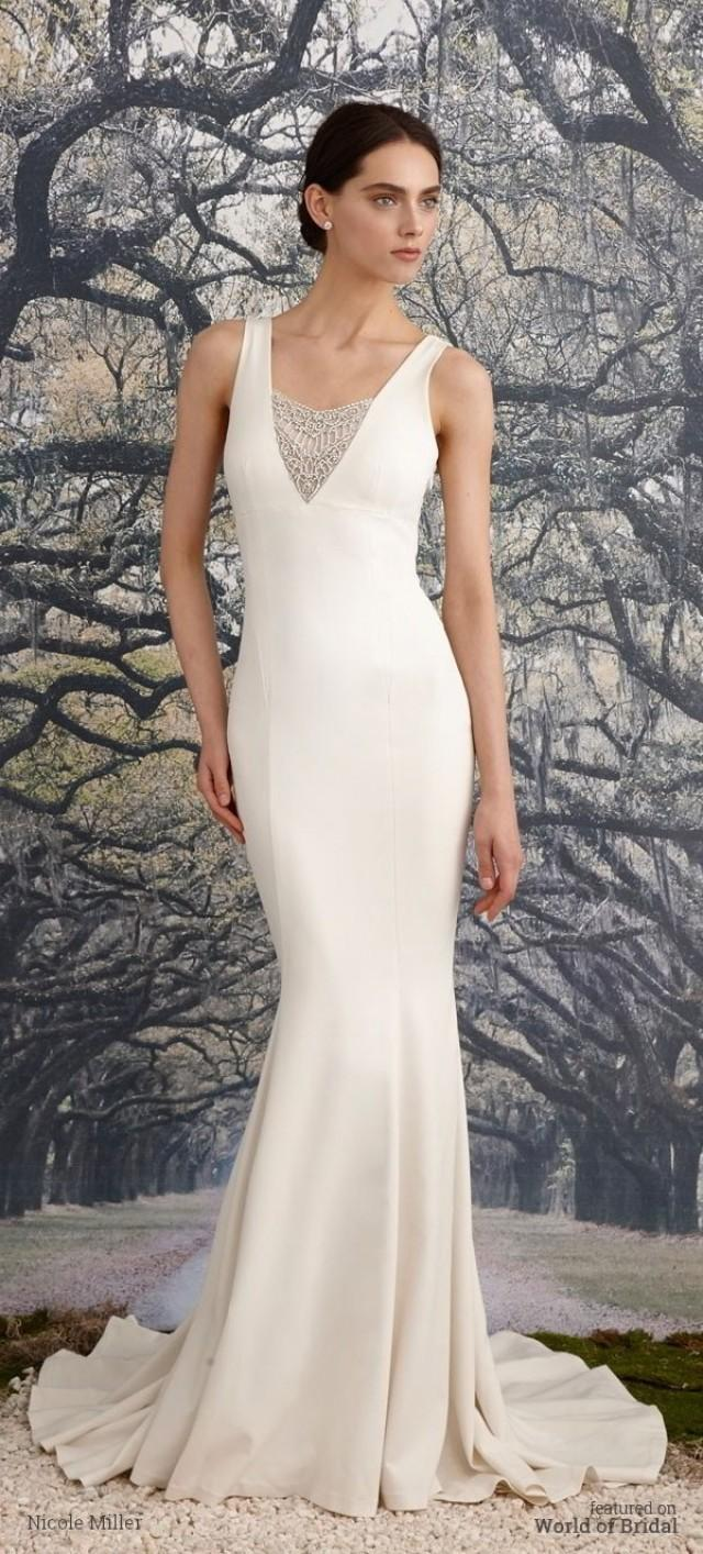 Nicole miller spring 2016 wedding dresses 2407914 weddbook for Nicole miller wedding dresses nordstrom