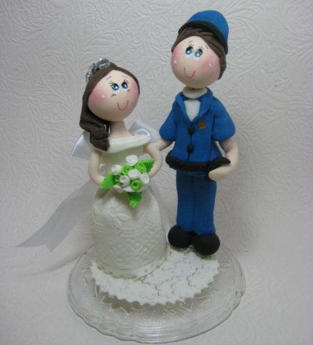 Custom Wedding Cake Topper Funny Wedding Cake Topper Police Cake Topper 2408397