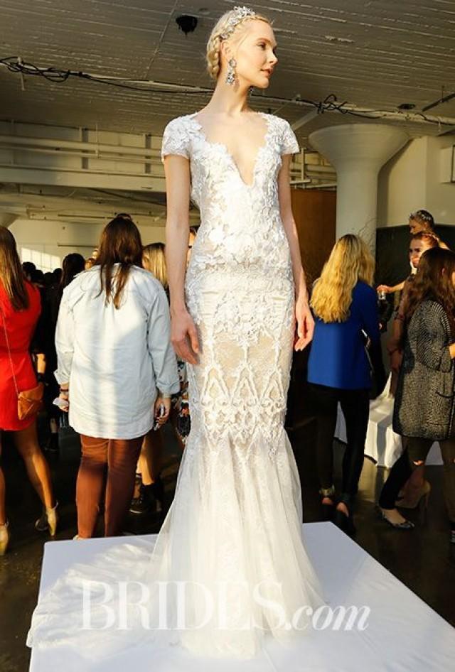 Marchesa Wedding Dresses   Fall 2016   Bridal Runway Shows   Brides.com