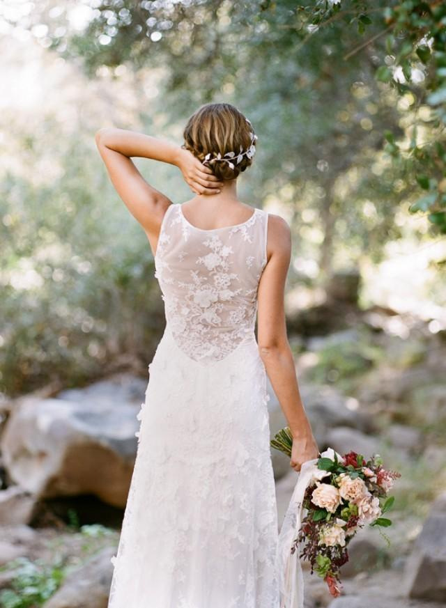 New romantique bride by claire pettibone wedding dresses for Wedding dress claire pettibone