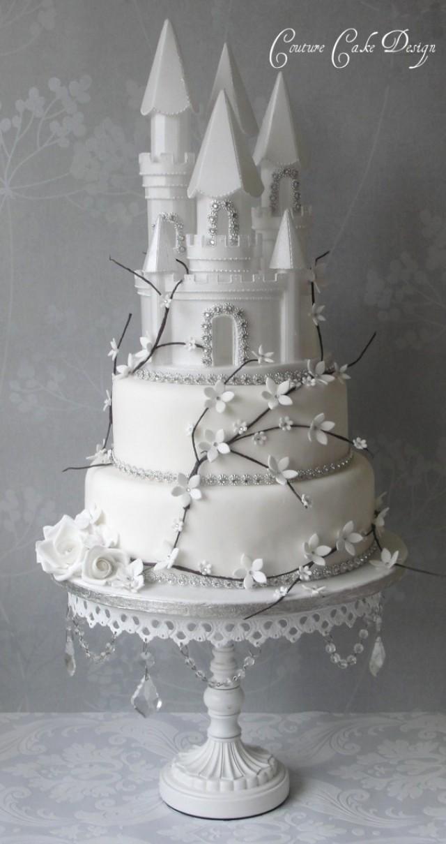 Cake - Styrofoam Cinderella Castle #8 #2410097 - Weddbook