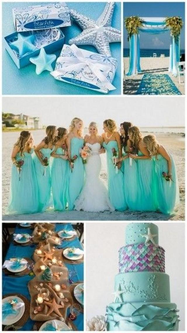 Wedding Wednesday Starfish Themed Beach Wedding Ideas 2410782