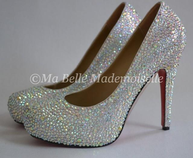 crystal wedding shoes crystal bridal shoes bling shoes 2411068