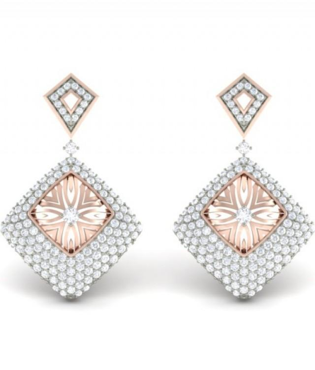 wedding photo - The Anaida Diamond Earrings