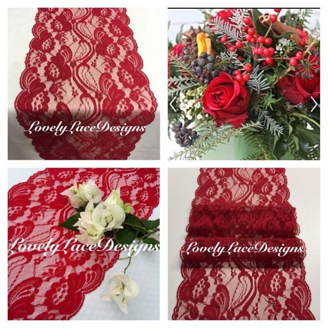 Christmas lace table runner 3ft 10ft x 7 wide table for 10 foot table runner