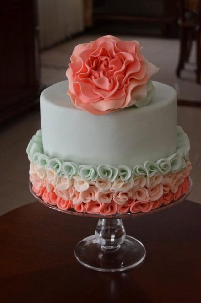 Cake Decor With Roses : Cake - Peony Rose - CakesDecor #2413921 - Weddbook