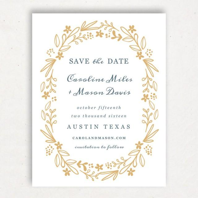 Einladung - Printable Save The Date Template #2415005 ...
