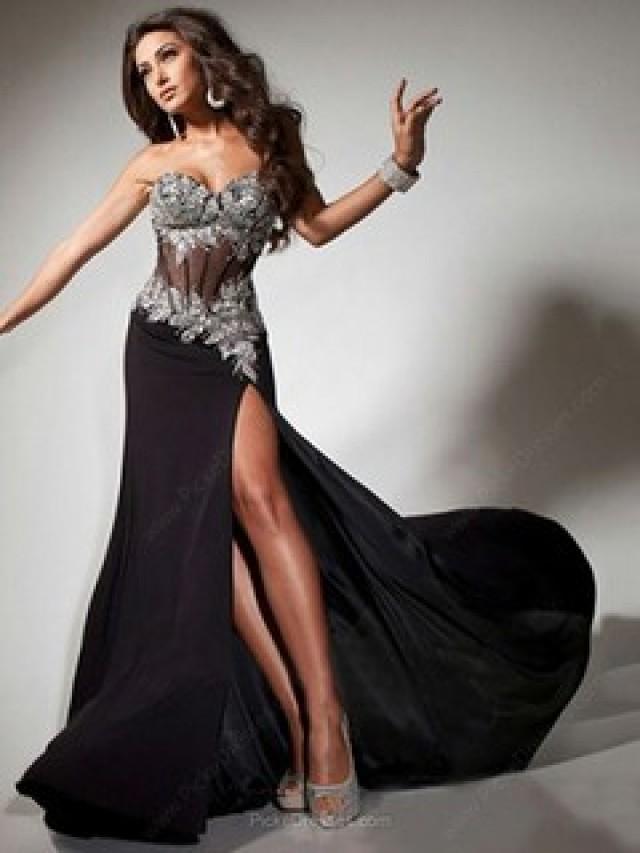 wedding photo - Black Prom Dresses Canada
