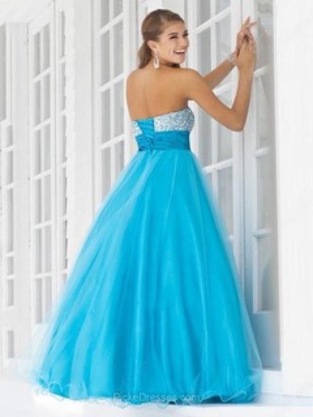 wedding photo - Blue Prom Dresses Canada