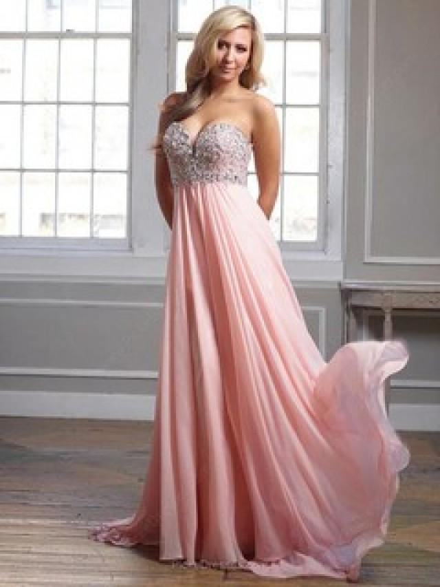 wedding photo - Pink Prom Dresses Canada