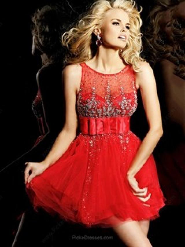 wedding photo - Red Prom Dresses Canada