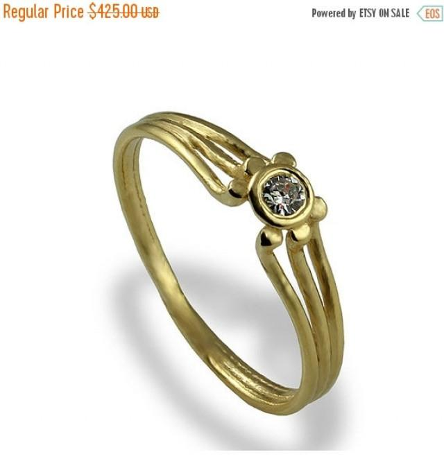 Black Friday SALE Solitaire Engagement Ring Diamond Engagement Ring Sol